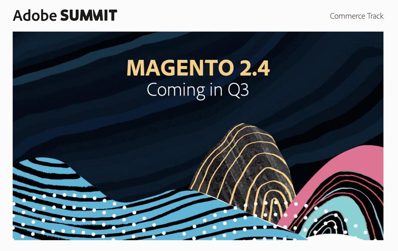roma_glushko: #Magento 2.4 is coming in Q3 🚀 #MagentoImagine https://t.co/2JV2U6facn