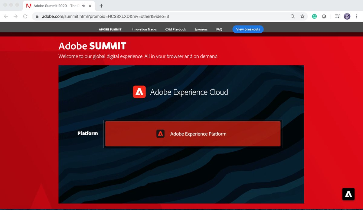 TbwAdvisors: Adobe Experience Cloud #AdobeExperienceCloud Privacy by Design #adobesummit #conferenceWhispers @AdobeSummit https://t.co/pSOaE1V6ny