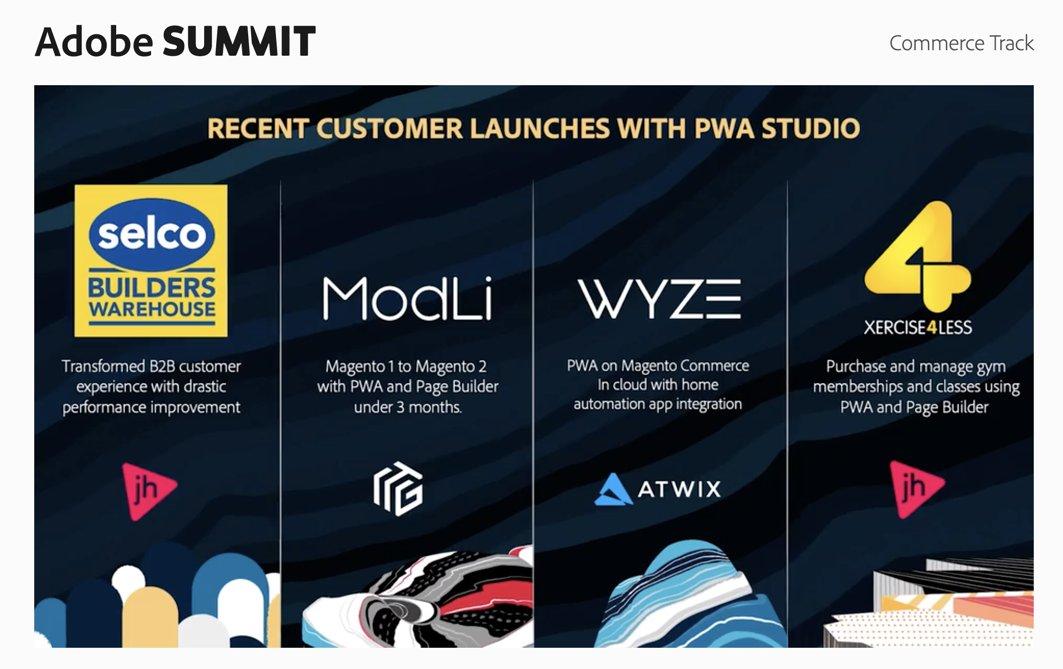 roma_glushko: Woot-woot 🔥 #PWA adoption keeps going 🙌n@atwixcom @WyzeCam #MagentoImagine https://t.co/atlGipbxud