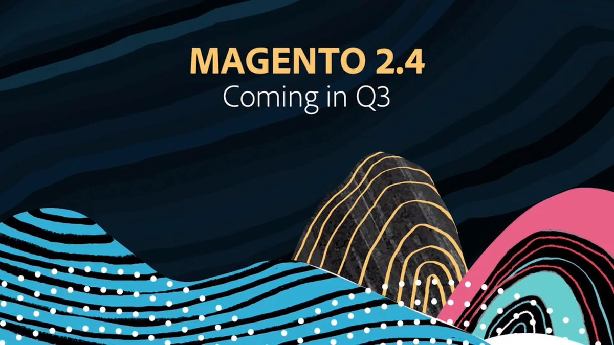 moingshaikh: Magento 2.4 Coming in Q3!nn#AdobeSummit #Magento #CommerceCloud #Cloud #eCommerce https://t.co/R9R82T9U2L