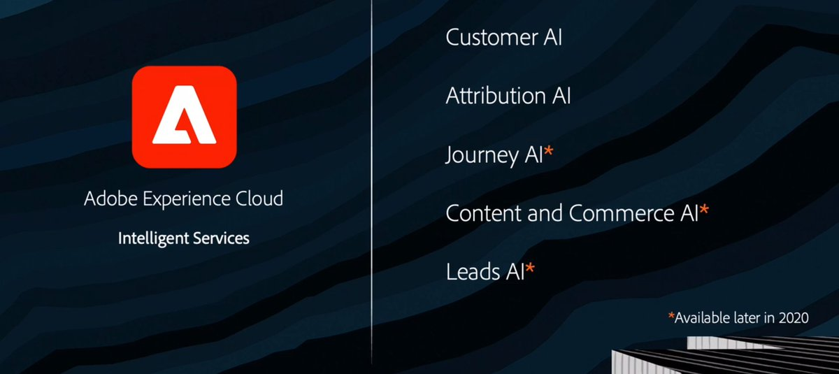cocktails_guy: Adobe in AI !!! Great step for this decade of 2020. #AdobeSummit #Adobe @AdobeSummit https://t.co/Eb9Ucu3FPl