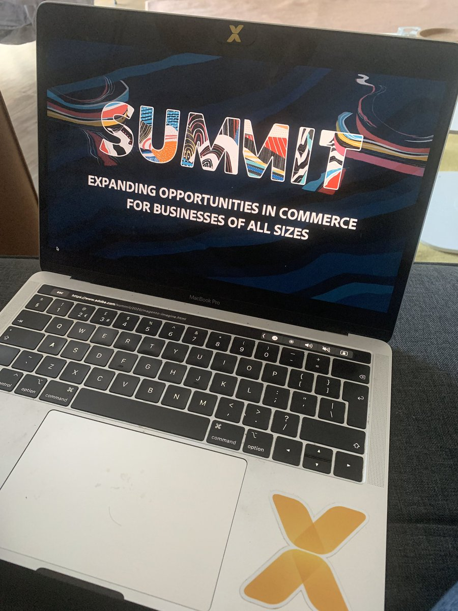 emiliaswiecicka: From Vegas to my living room - tuning into @AdobeSummit online this year. #adobesummit @vaimoglobal https://t.co/NWKDqLQaCK