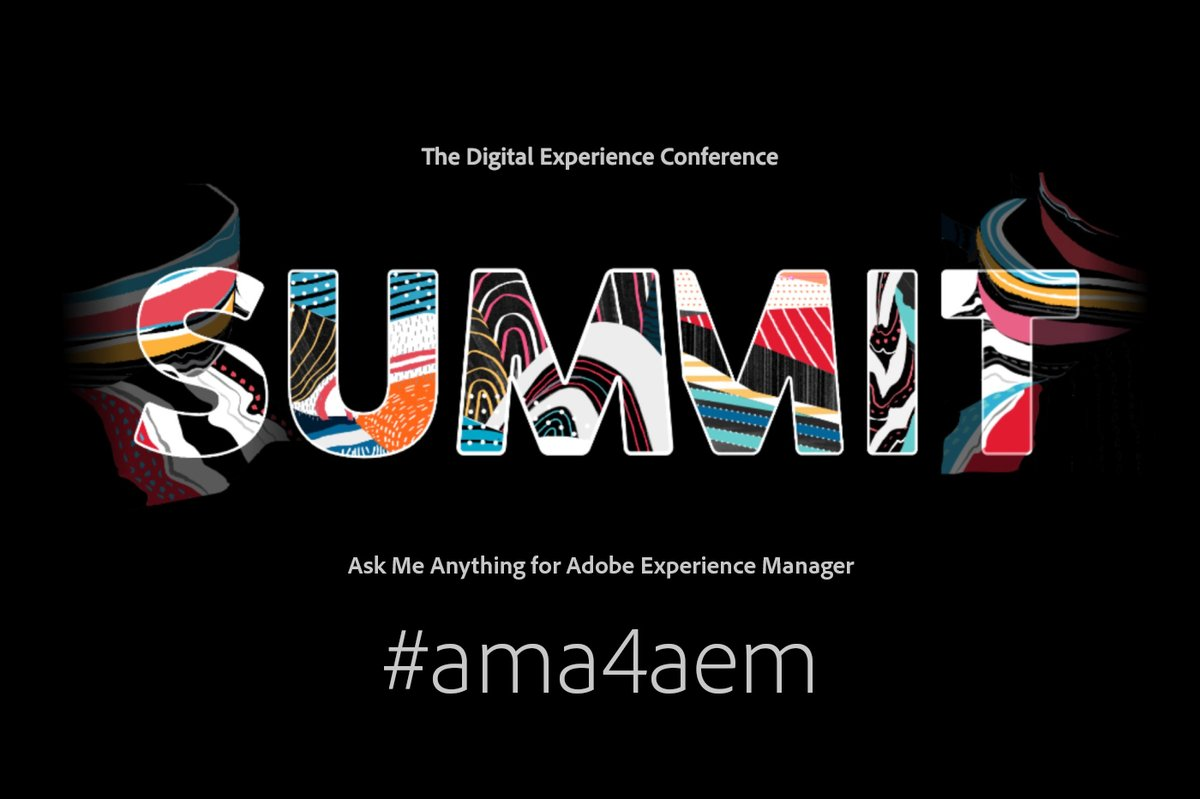 csanchez: Starting #AdobeSummit. I'm a Cloud Engineer for AEM as a Cloud Service - You can ask me anything 🙋 #ama4aem https://t.co/y5Q8KKBbYH