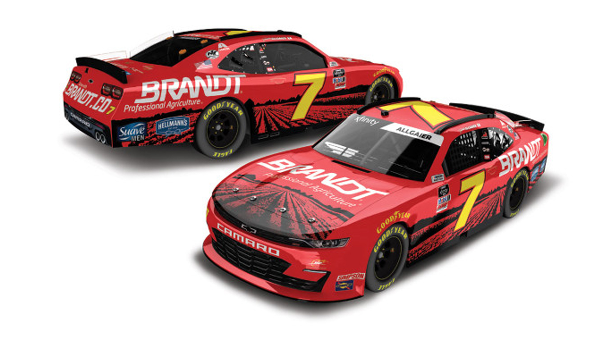 🚨GIVEAWAY ALERT!!!!🚨  We want to see your @J_Allgaier @Brandt_Co Diecasts!   Show us your collection before Friday at Noon ET and we'll select a random winner to receive a JRM Brandt Crew Shirt!   #JRNation #NASCAR