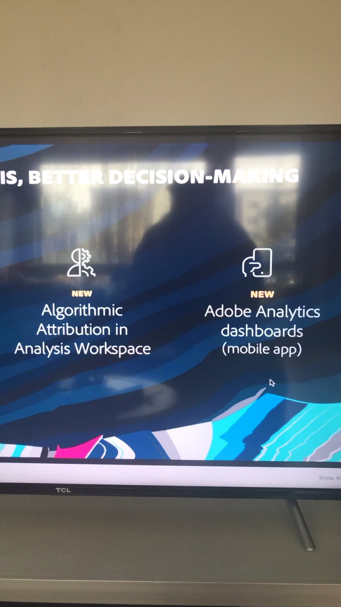 ConsultJason: Yes yes yes. I'm here for the the mobile app! 👏🏾💪🏾 #AdobeSummit https://t.co/HqKjHYBmZ6