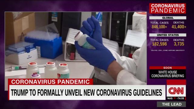 Fact Checking the president's coronavirus claims @kaitlancollins reports