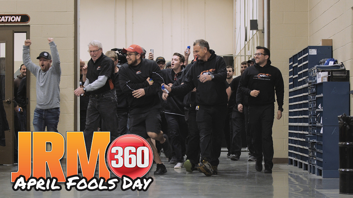 .@MichaelAnnett won his first career race last year @DISupdates.   We celebrated of course but we had to have some fun first.   📺  #JRM360 #JRNation