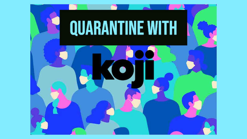 #QuarantineMoneyMakingIdeas for all #creators + #developers! 🧠  Read more on how you can create awesome content 🎨 + monetize it 💰with Koji here:     #madewithkoji #developers #gamedevs #graphicdesigners #designers #soundeng #soundfx #creatives