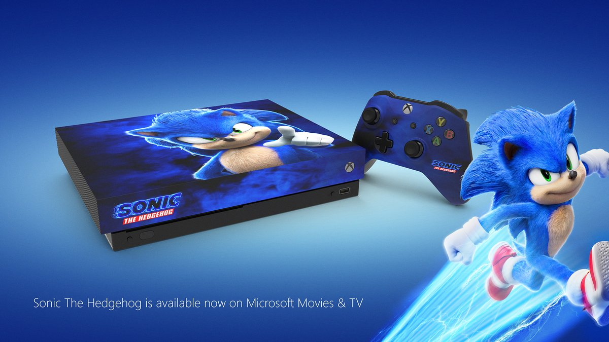 Retweet this with #SonicXboxSweepstakes FAST for a chance to win a custom @SonicMovie console.   Just kidding, you can retweet at a regular pace. Take your time.   Xbox Live countries | 18+ | End 4/14/20 | Rules:
