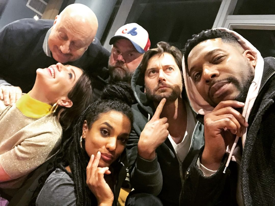 They're serious onscreen, but goofballs behind the scenes. #NewAmsterdam https://t.co/KKQRGzwz89
