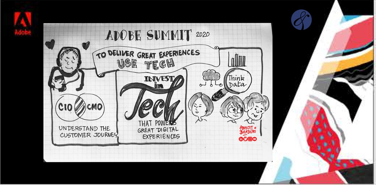 AbhijitBhaduri: One key idea I took away from the #AdobeSummit last evening. #AdobeInsiders https://t.co/1R4i7XUF4Z