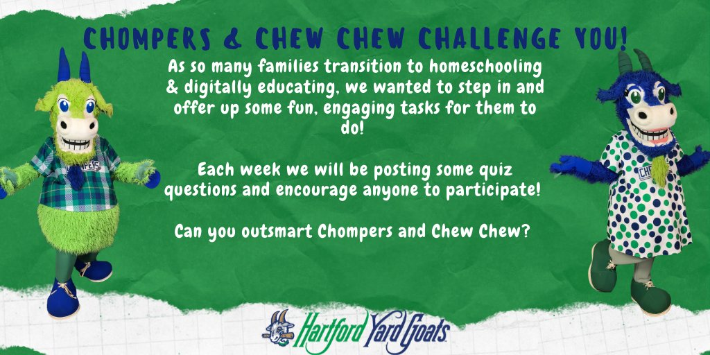 If you are awake to challenge Chompers & Chew Chew, Quiz #2 is up, and will close at 5pm EST.   📓✏️: https://t.co/8cdDe7QPw4 https://t.co/b2wz26JI1j