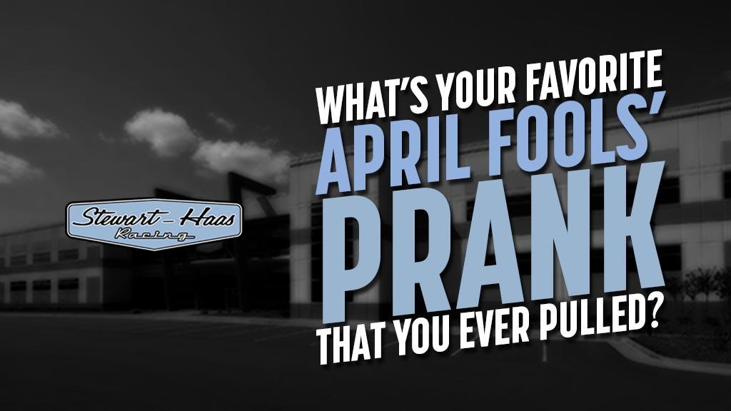 Tell us your pranks!  #NASCAR // #AprilFools