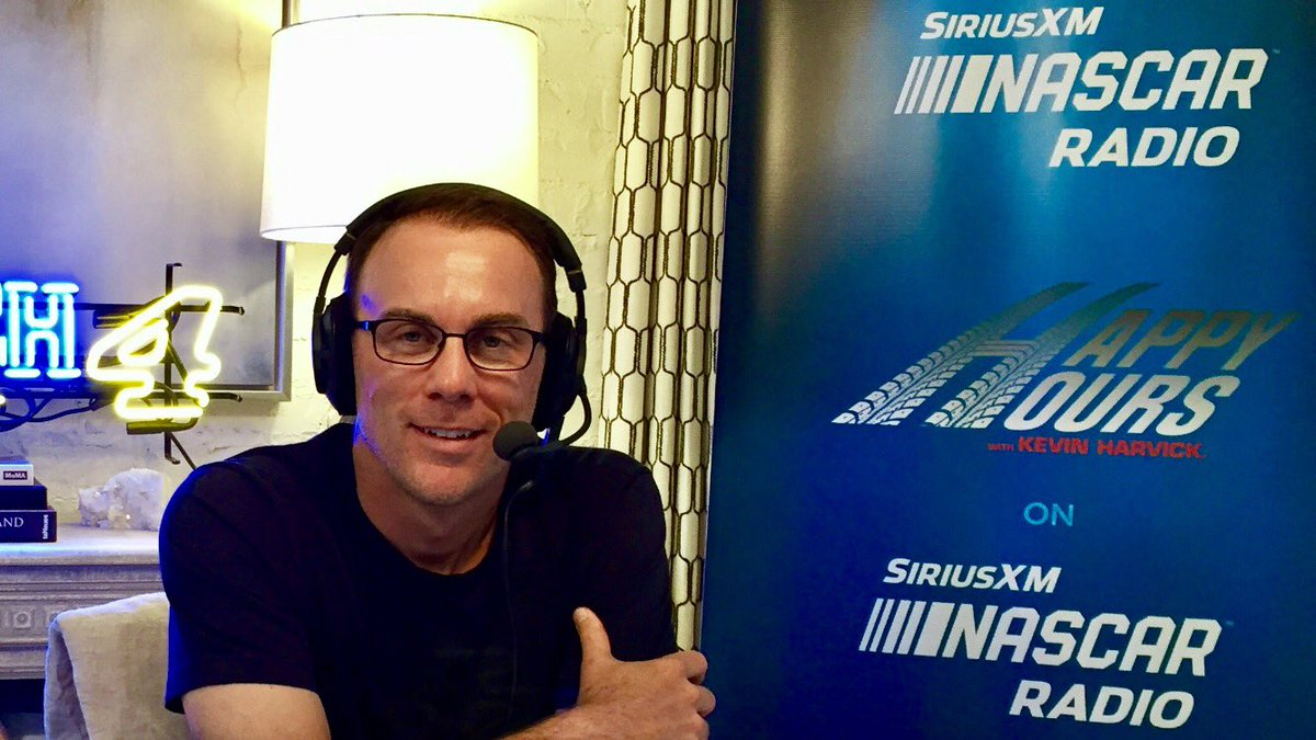 Happy Wednesday indeed!   @KevinHarvick is back on @SiriusXMNASCAR for #HappyHours at 1 p.m. ET!