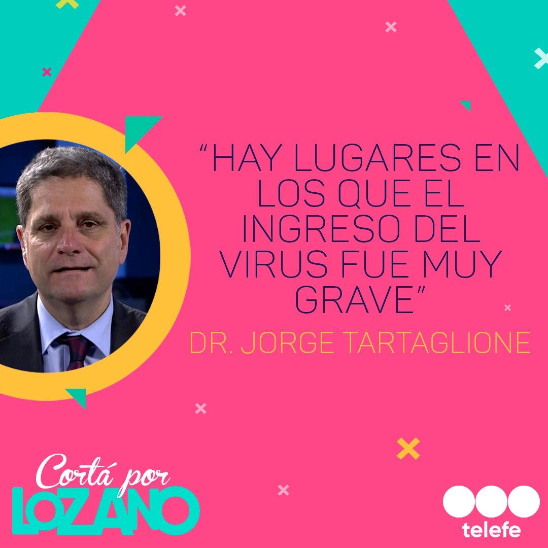 [#CortaPorLozano] Coronavirus: El Dr. @JTartaglione analiza el avance infeccioso en el país 👇🇦🇷 #YoMeQuedoEnCasa #CoronavirusEnArgentina https://t.co/ynHH4KXXWw