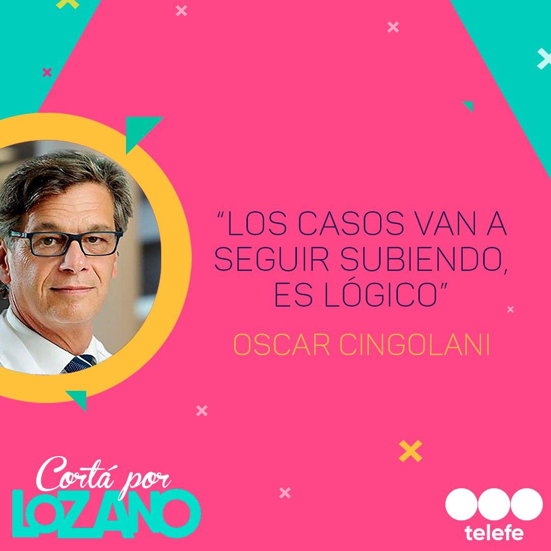Desde Estados Unidos, el Dr. @cingolani_oscar nos comenta acerca de la situación del virus en el mundo 🌎👇 #CortaPorLozano #YoMeQuedoEnCasa https://t.co/GCSCcvjtzx