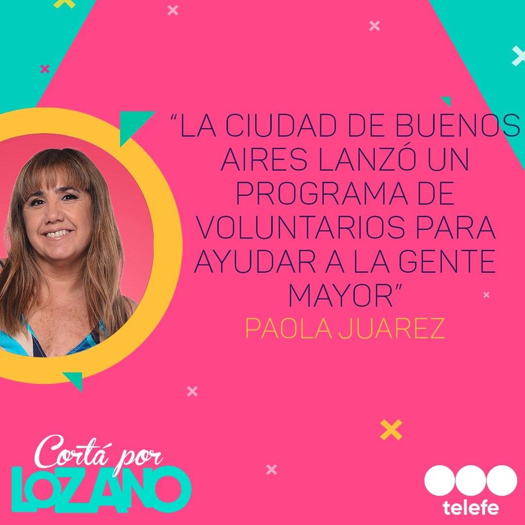 Coronavirus: @JuarezPaola nos informa más acerca del programa de voluntarios 👩🦳👨🦳👏 #CortaPorLozano #JuntosPodemosLograrlo #CoronavirusEnArgentina https://t.co/yxtM12Gd3I