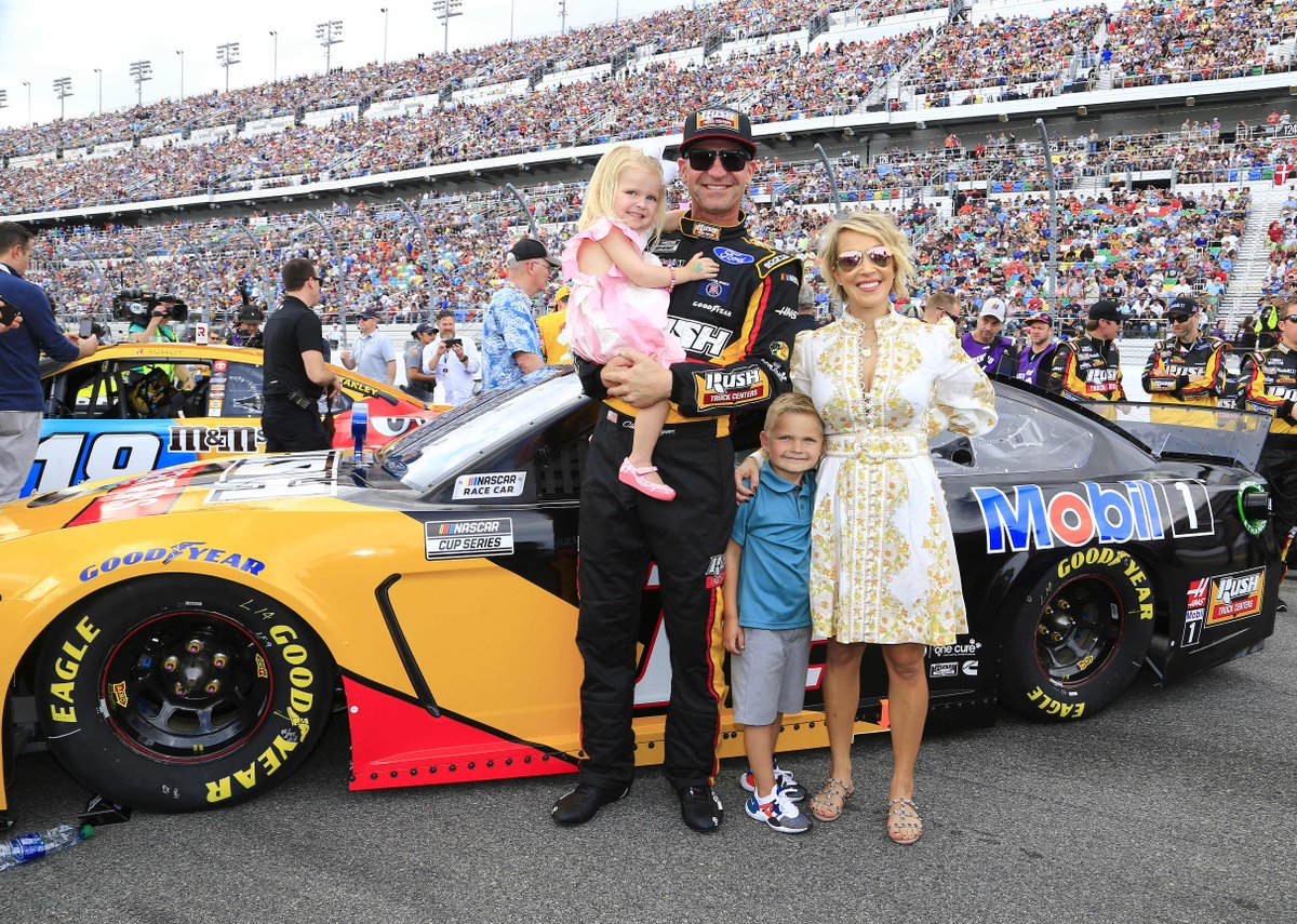 We miss seeing the Bowyer Bunch at the track! ❤️    #NASCAR // @ClintBowyer