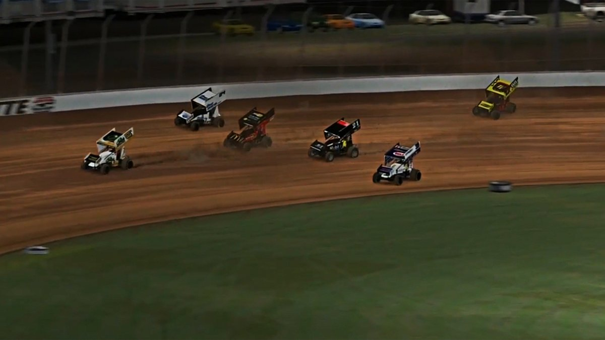 Check out all the highlights from Wednesday's @WorldofOutlaws @iRacing event from virtual Charlotte!