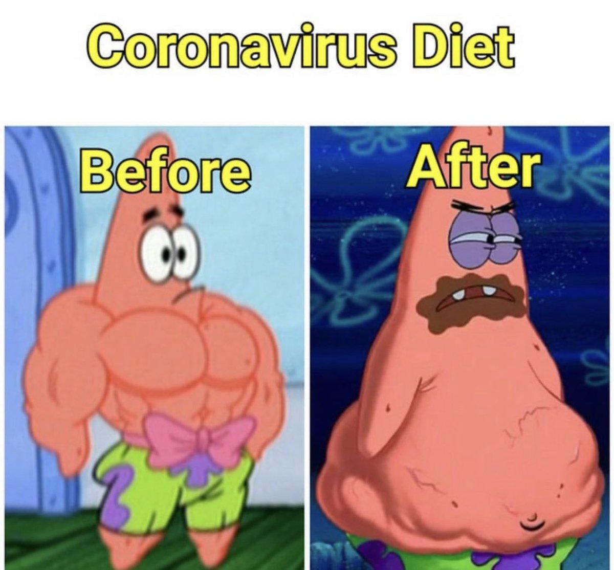 Accurate!!! #coronavirus #IsolationLife #fatass #feedme #eat #sleep #repeat