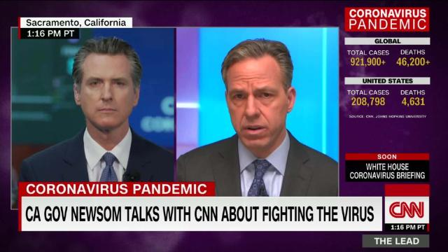 CA Gov: All governors should issue stay at home orders now, what are they waiting for? @GavinNewsom discusses