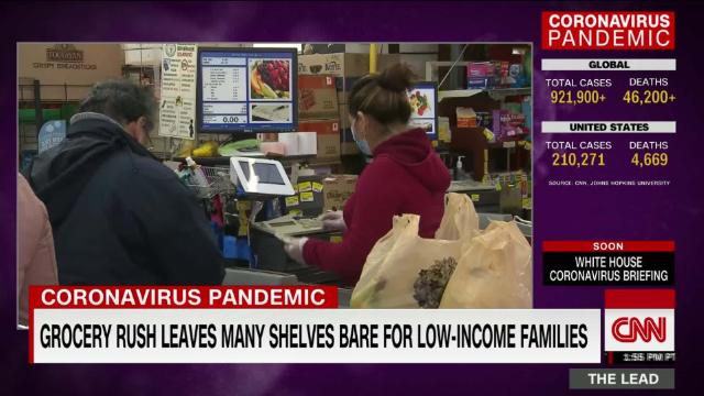 Surge in applications for govt assistance to help families with basic needs @tomforemancnn reports
