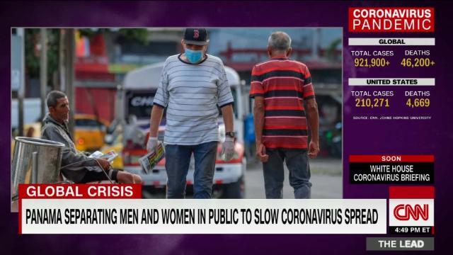 Panama separating men and women in public to slow coronavirus spread @CNN_Oppmann reports