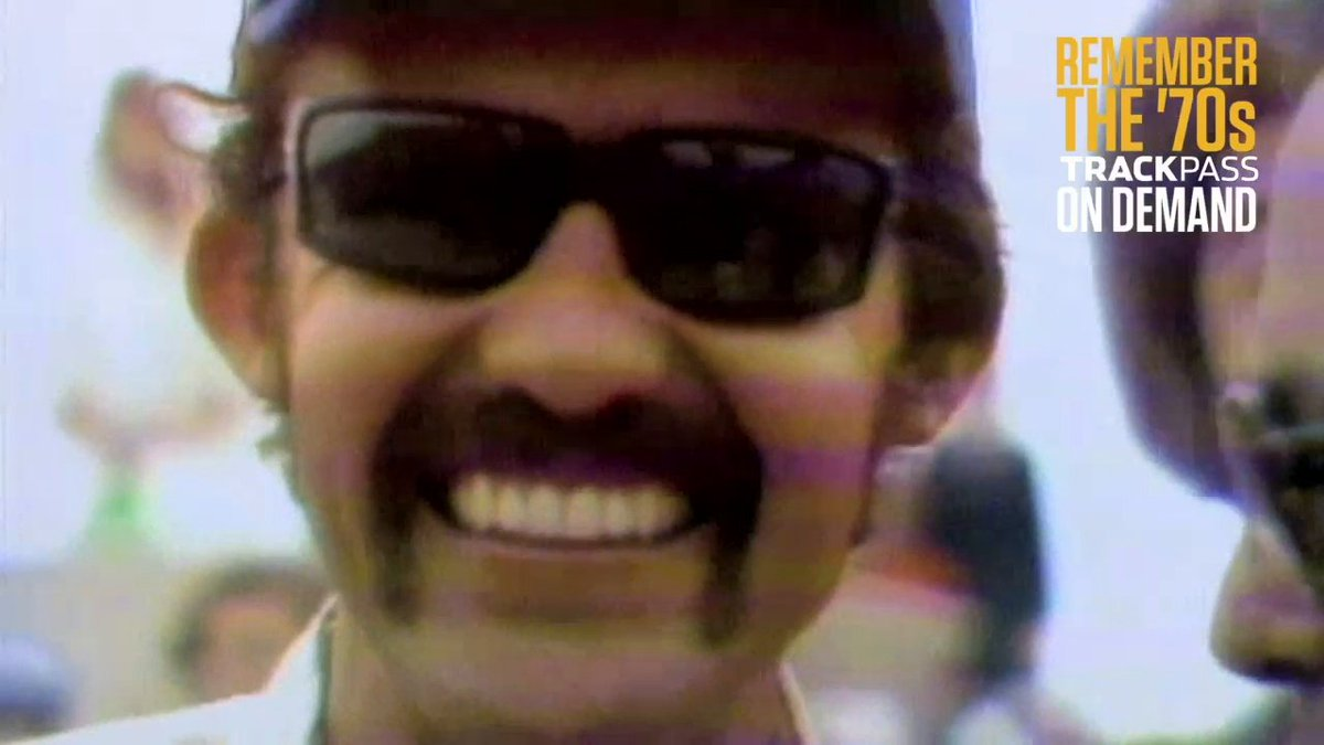 """TELL US: What was your favorite part about the '70s?!  Watch """"NASCAR Decades: the '70s"""" and other documentaries for FREE now on @_TrackPass:"""