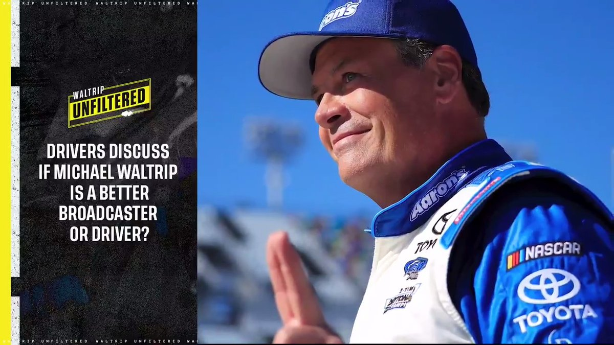Is @MW55 a better driver or broadcaster? We asked some current drivers.