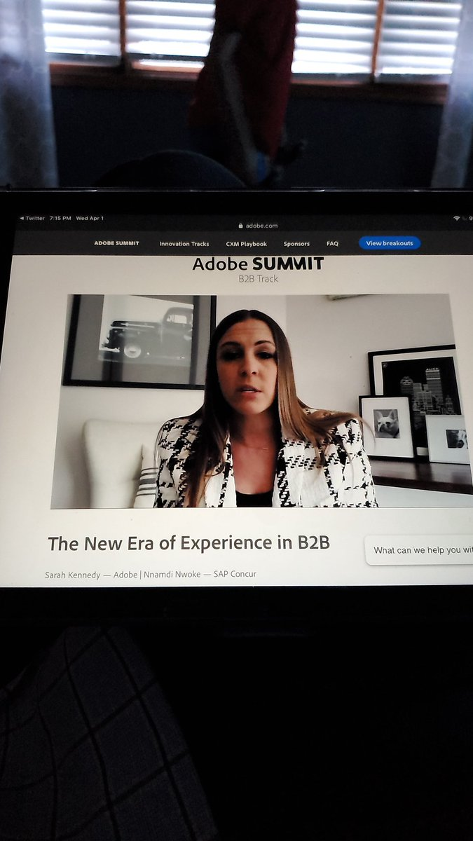 AccordingtoFred: More #AdobeSummit tonight. Take advantage of the OnDemand content!  #B2B #professionaldevelopment https://t.co/HiKJJkDpHH