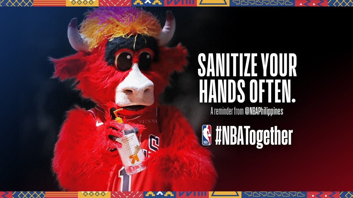 Do it often, and do it well. At least 20 seconds using any soap will do. #NBATogether