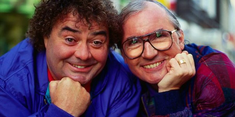 With a heavy heart I have just found out, (through his son Ryan), that his father Eddie Large has passed away, I worked many times with him and his partner Sid, they were not only a great act, but such fun to be with! Our thoughts and prayers goes to Patsy and Ryan and family xx