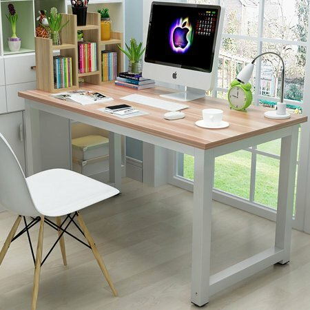affordable home office furniture : Ktaxon Wood Computer Desk PC Laptop Study...