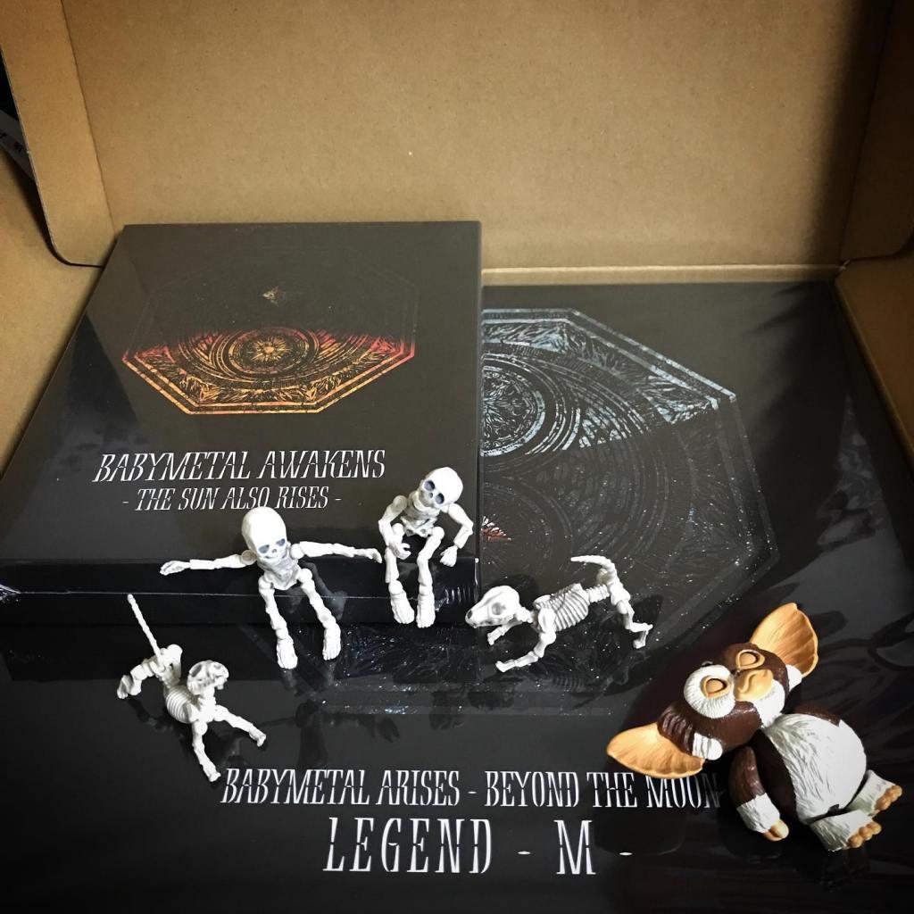 test ツイッターメディア - 🏻🦊届いた〜Legend-MのShine尊い🏻☠️ @babymetal_official #babymetal #LegendM #metalgalaxy #stayhome #Gizmo #Mogwai #Gremlins #poseskeleton #skeleton #skeletondog #skeletoncat #ギズモ #モグワイ #グレムリン #謎生物 #ポーズスケルトン #リーメント https://t.co/g8vE6CWPtQ https://t.co/DNoDhhgyfc