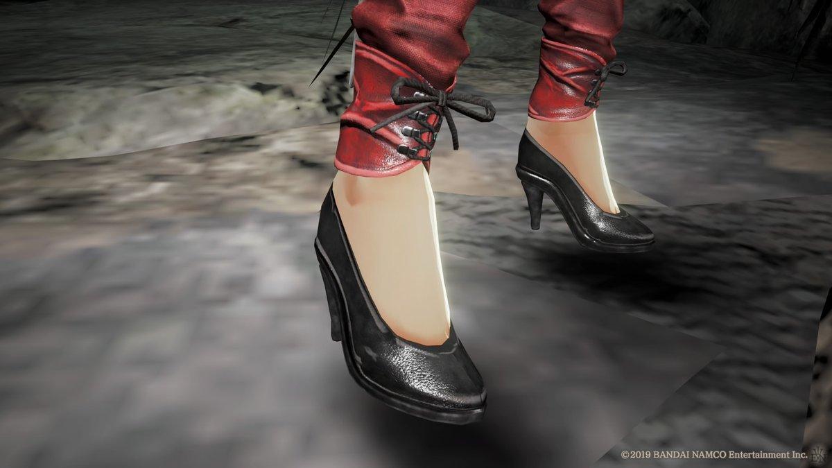 test ツイッターメディア - エヴァさんアナザーVer.のおズボンの末端、デザイン素敵だなー可愛いなー! っていうかエヴァさんのくるぶしがもう可愛いんだよなぁ!! #コードヴェイン https://t.co/wRpLZGjAfd