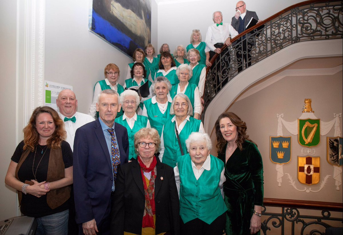 test Twitter Media - A lovely memory of the late Alice Kennedy, with the Irish Pensioners Choir, at our St Brigid's Day event in February. Our condolences to all of Alice's family, friends and colleagues. Ar dheis Dé go raibh a hanam. https://t.co/5W2mRqlNS5