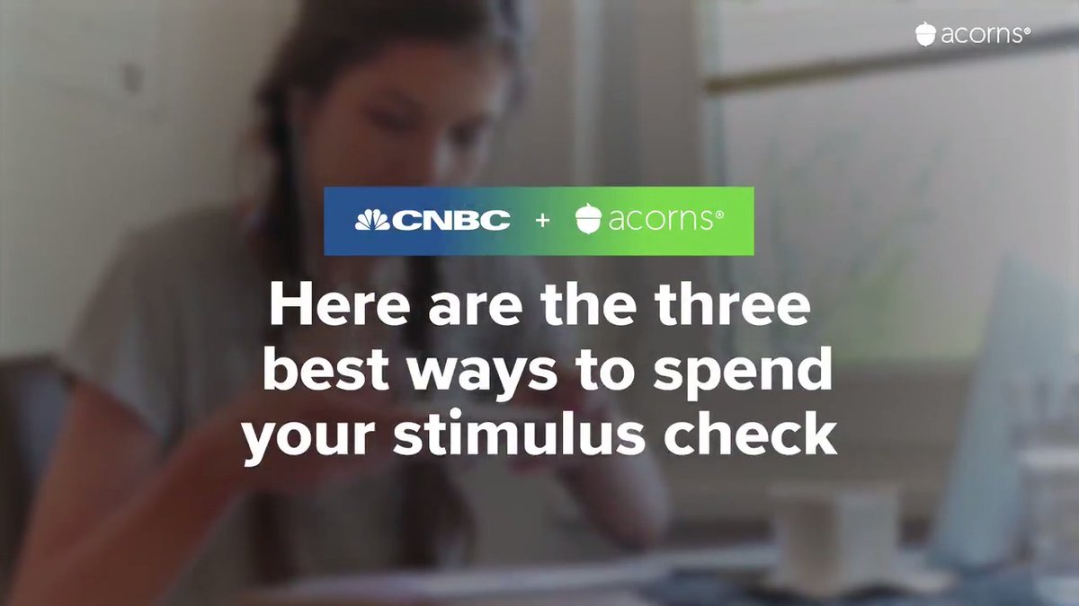 If you're one of the millions of Americans expecting to receive a coronavirus stimulus check from the government, here are 3 of the best ways you can spend the money.  #investinyou (In partnership with @acorns.)