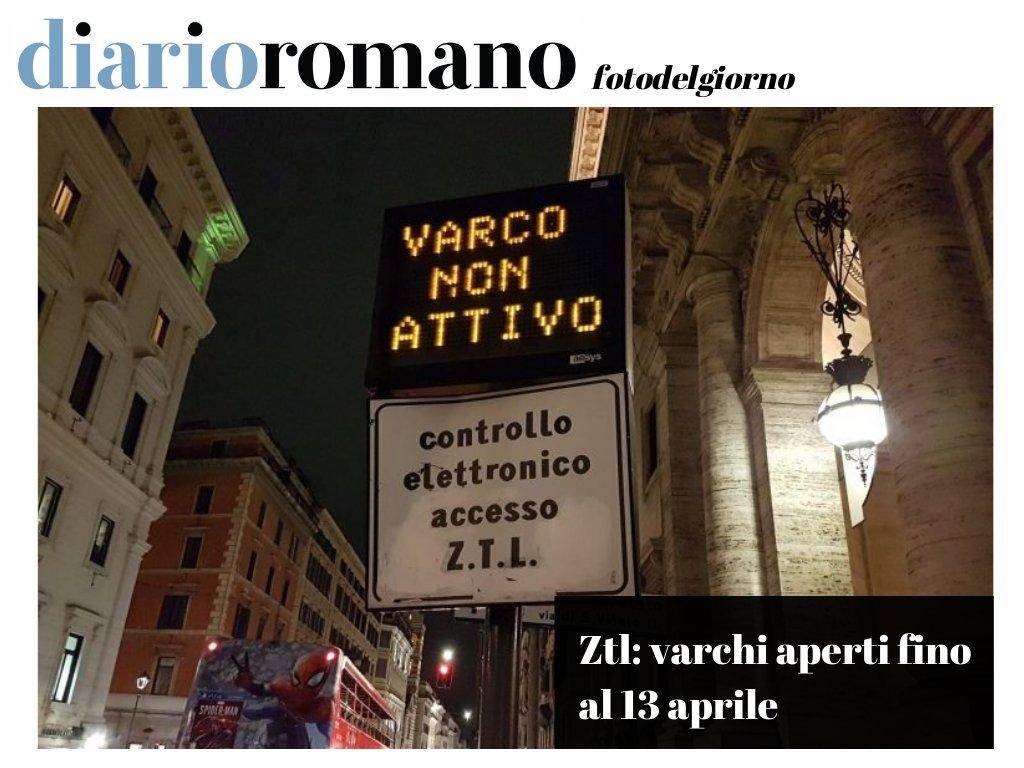 test Twitter Media - Dopo il prolungamento del #lockdown da parte del #Governo al 13 aprile, anche i varchi Ztl resteranno spenti fino alla stessa data. La delibera arriverà oggi. #coronavirus #Roma #photo #news https://t.co/NJJJn7THRM