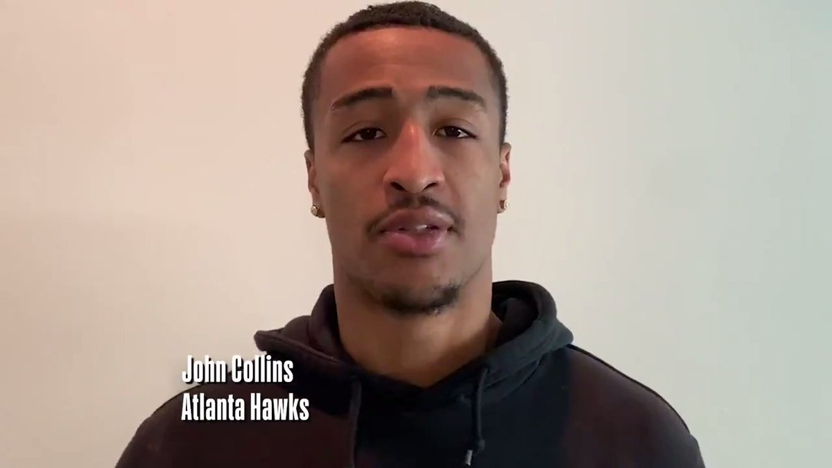 A message from @jcollins20_, @CJMcCollum, and @AndreDrummond. #NBATogether #ActsofCaring