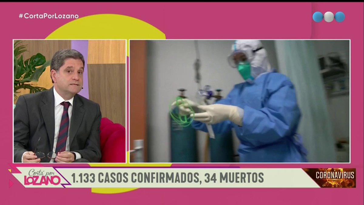 """Coronavirus: """"Lo que estamos logrando es ralentizar la situación"""" 🗣 afirmó el Dr. @JTartaglione al respecto 👇 #CortaPorLozano #YoMeQuedoEnCasa #JuntosPodemosLograrlo https://t.co/N5epFabL2x"""
