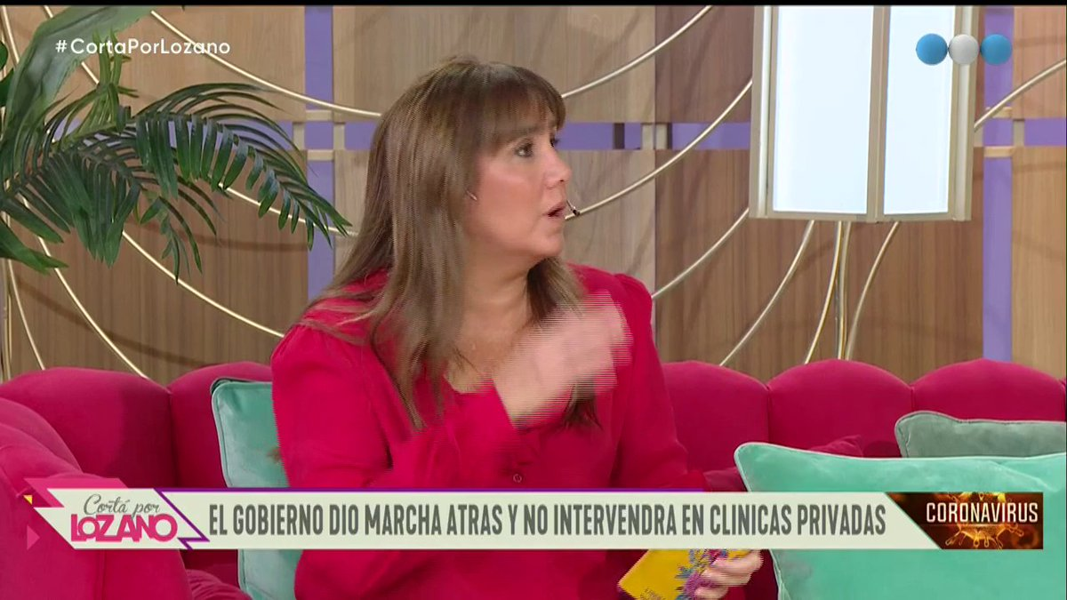 """Coronavirus: """"El Estado no va a estatizar las clínicas privadas de la salud"""" 🗣 anuncia la periodista @JuarezPaola en #CortaPorLozano #CoronavirusEnArgentina 👇 https://t.co/4DFkjlPVaB"""