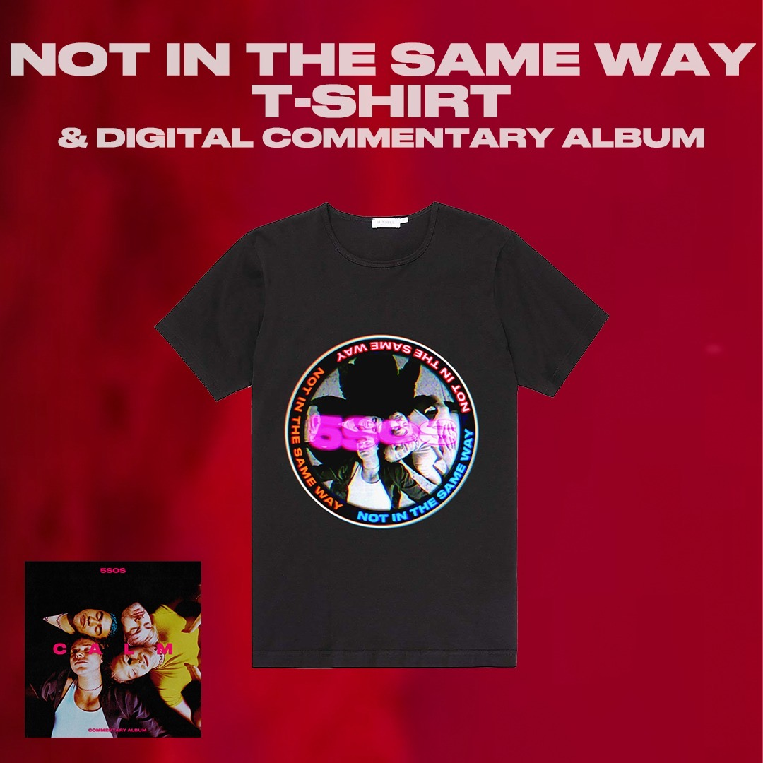 FLASH DROP #4 // NOT IN THE SAME WAY T-SHIRT AVAILABLE NOW IN THE US //
