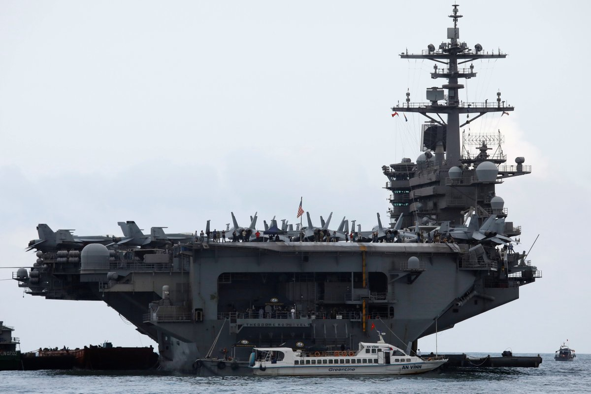 US Military Removes OfficerWhoSounded Covid-19Alarm on USS Roosevelt