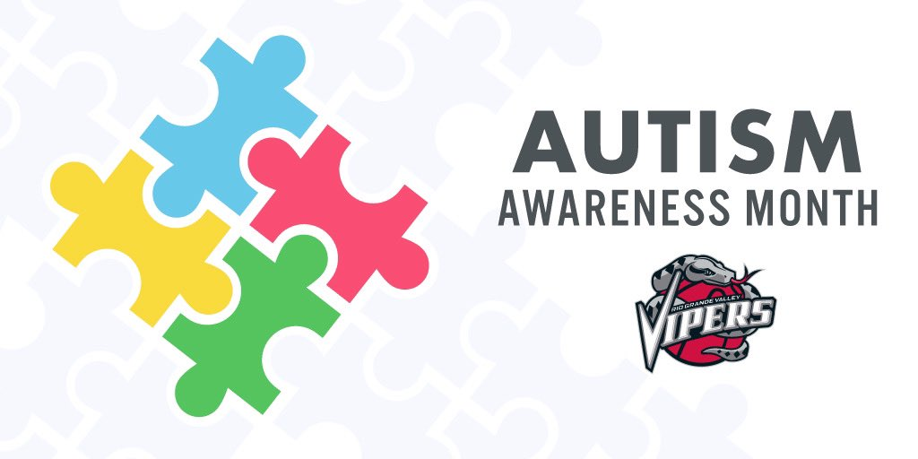 We encourage you to wear blue! #AutismAwarenessDay Let's spread kindness and Autism Awareness. 💙 #RGVVipers #NBATogether #ActsOfCaring #NBAGLeague