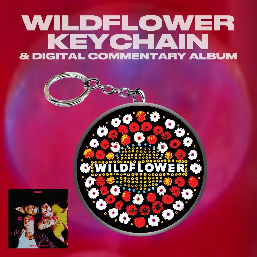 FLASH DROP #3 // EXCLUSIVE SIGNED INDIVIDUAL BAND 8x10 POSTERS AND WILDFLOWER KEYCHAIN AVAILABLE NOW IN THE US //