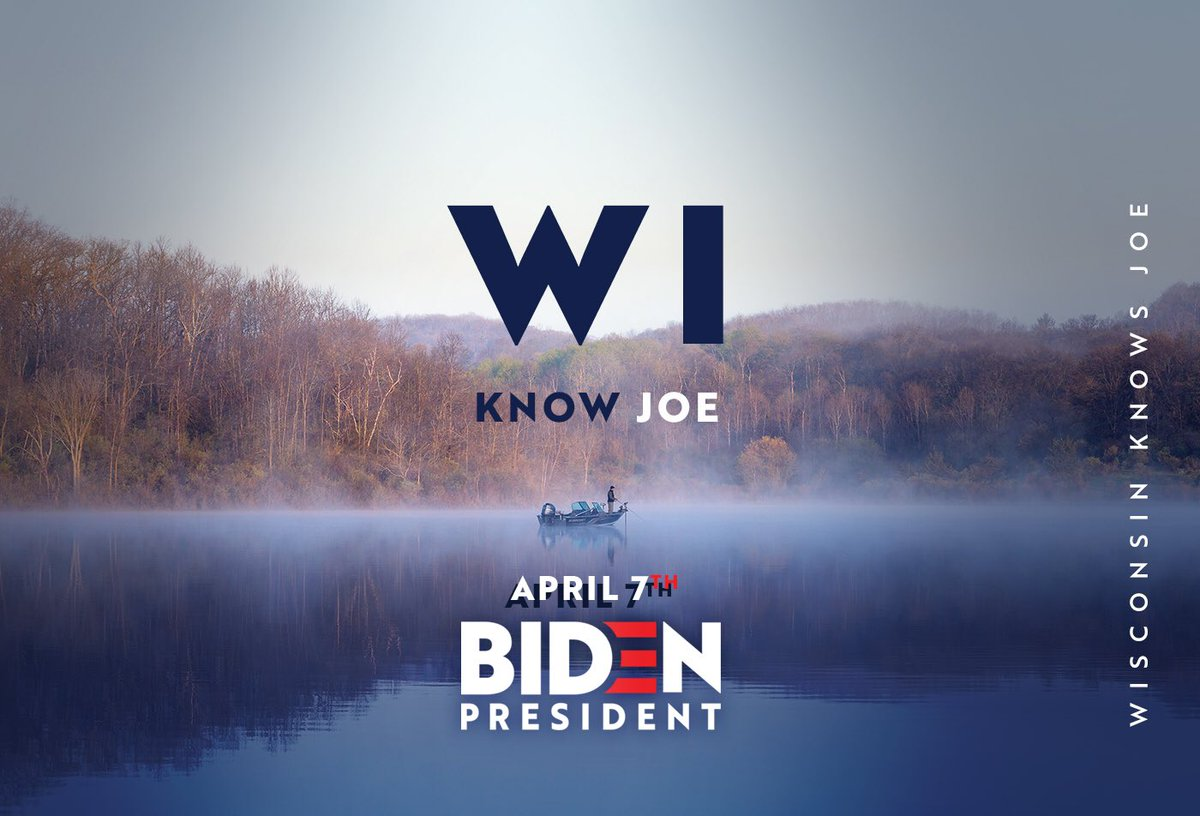 @benwikler #Wisconsin knows Joe #Biden Everyday Joes, Janes and Jacquelyns are casting votes starting TUESDAY. We've got to take the energy of this 🥁MARCH to the White House #TeamJoe #Biden2020 #WIKnowJoe #Milwaukee #GreenBay #WI #DemPrimary #VoteBlue