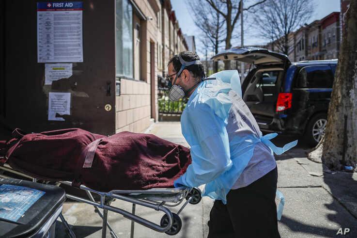 'Surreal': NY Funeral Homes Struggle as Virus Deaths Surge