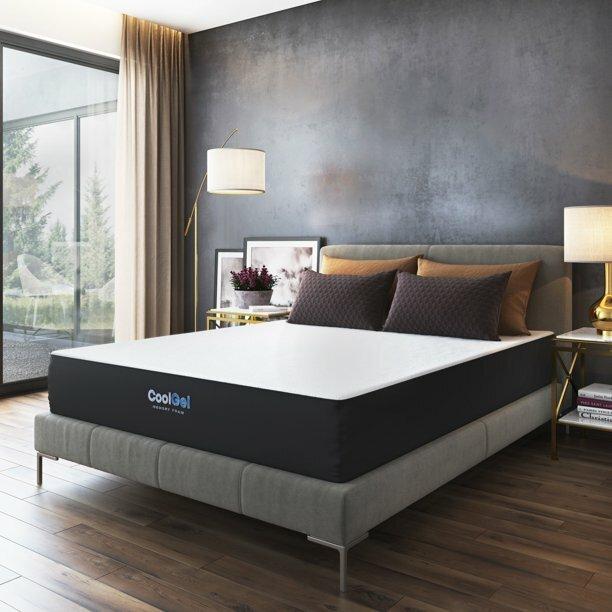 affordable full mattress : Modern Sleep 10.5-Inch Cool Gel Memory Foam...