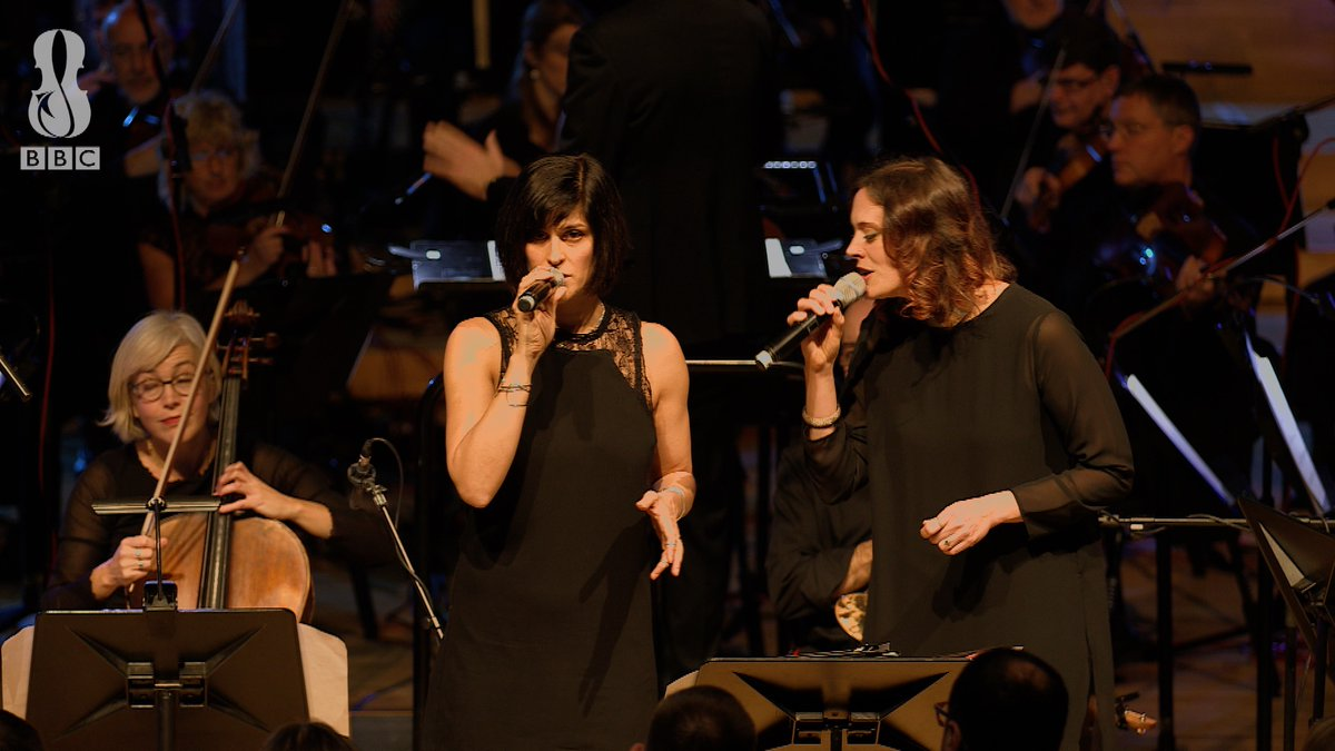 Here's American rapper and singer @dessadarling with @abywolf and @BBCNOW, in a little snippet from our first ever CoLaboratory concert at the end of last year with @RobAmesConducts 🎤  Who'd like to see another BBC NOW #CoLaboratory?  ✋