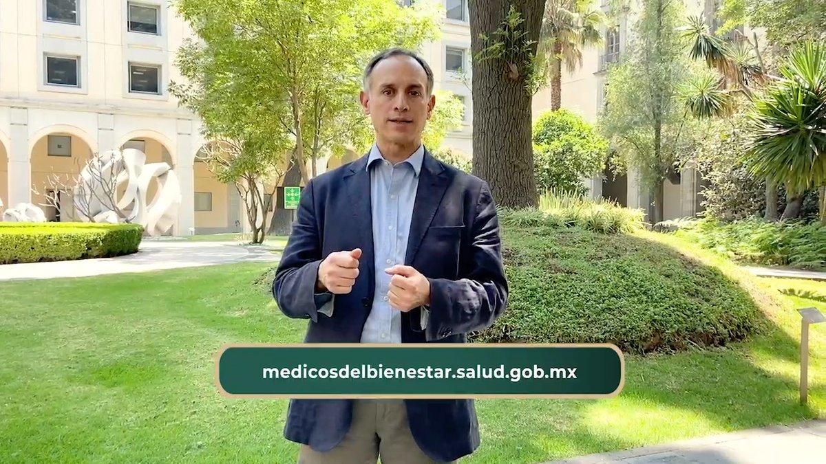 Continúa la convocatoria #MédicosDelBienestar del @INSABI_mx dirigida a profesionales de la salud especialistas en áreas fundamentales para la respuesta a la #EmergenciaSanitaria por #COVID19. Agradezco el compromiso y la entrega que han demostrado para proteger a la población.